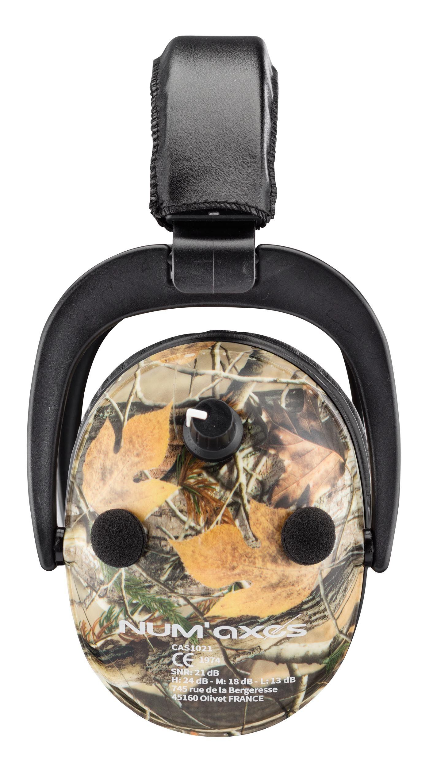 NUM117-3 Spika Hearing Protection Amplified Headphones - NUM117