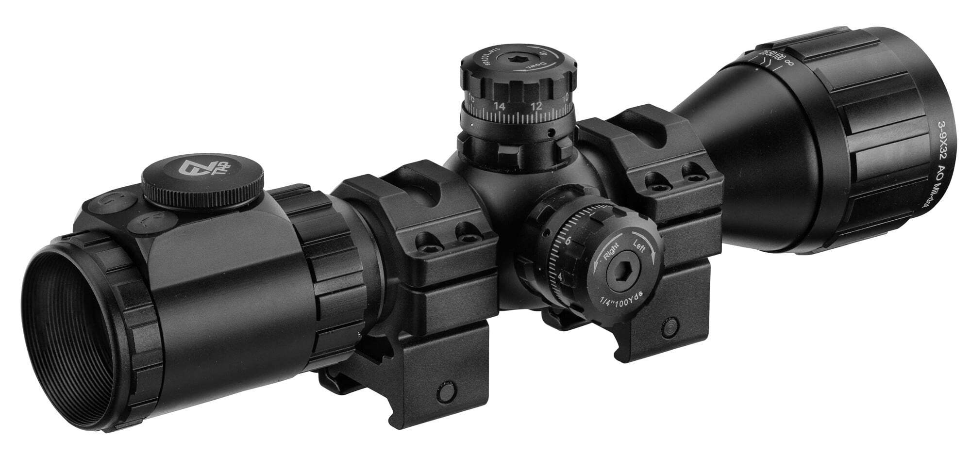 OP6721-8 UTG Mildot rifle scope - OP6721