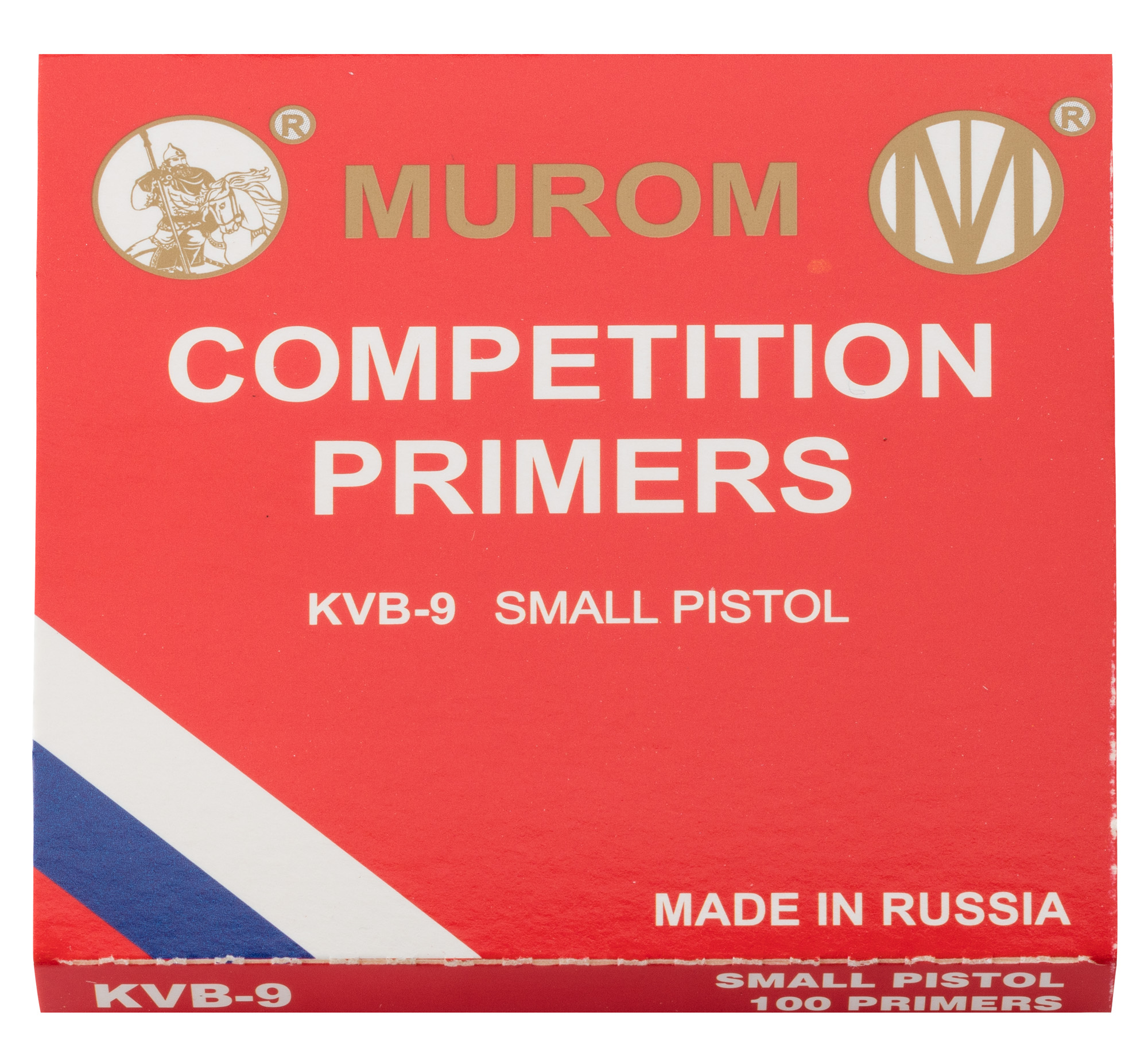 R6100-6 Amorces Murom type Boxer Small Pistol - R6100