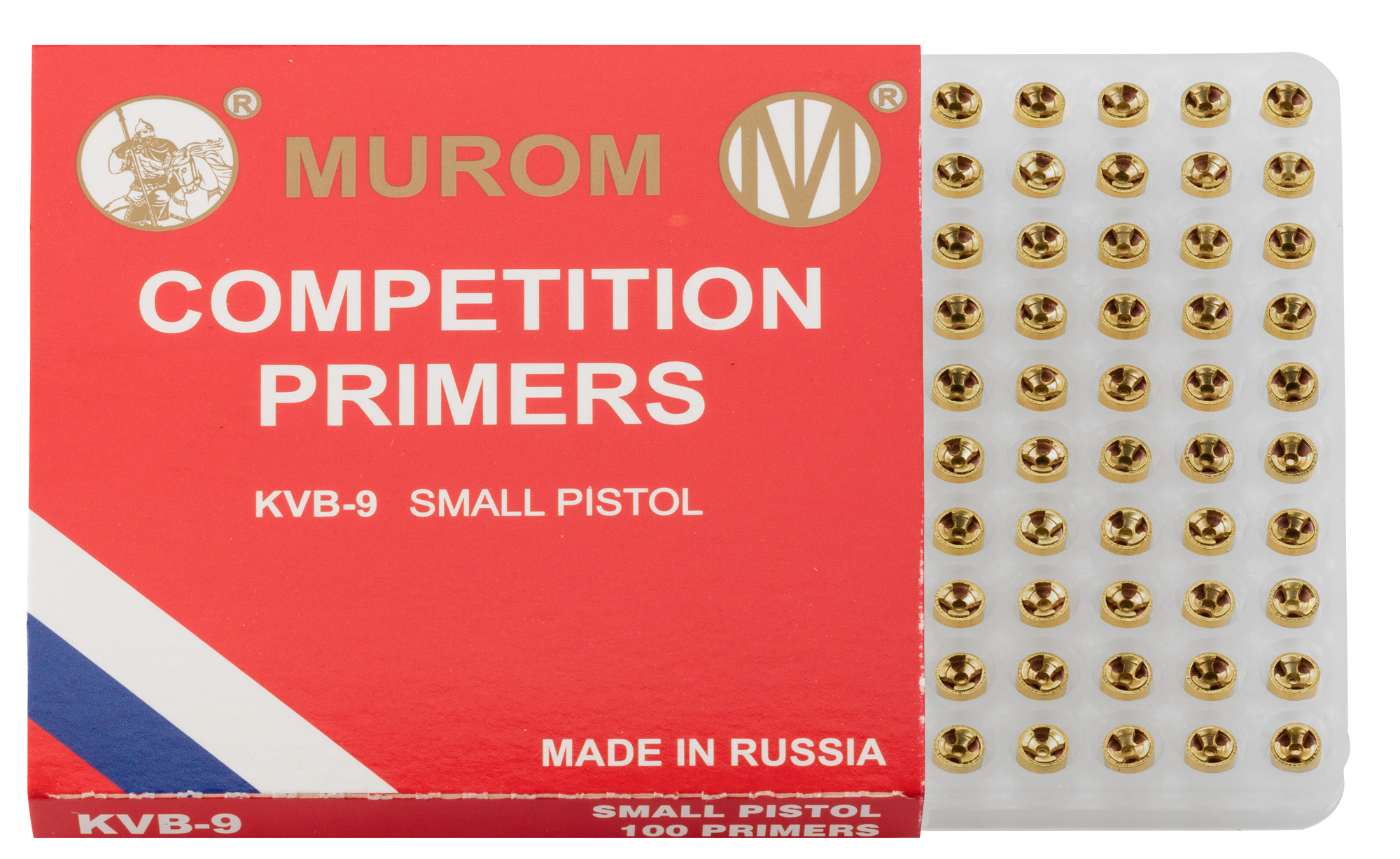 R6100-7 Amorces Murom type Boxer Small Pistol - R6100