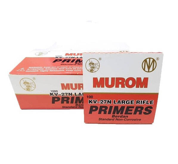 R6150 MUROM  AMORCES BERDAN LARGE RIFLE BTE x 100 - R6150