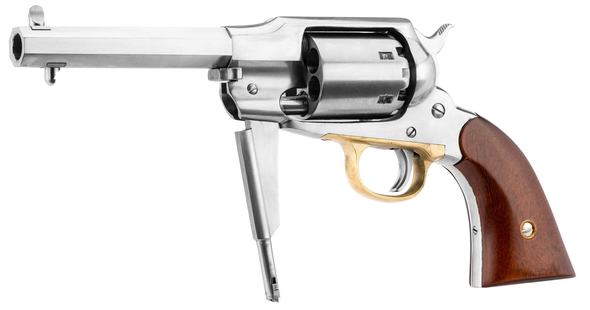 RE266-3-REMINGTON 1858 INOX - RE267