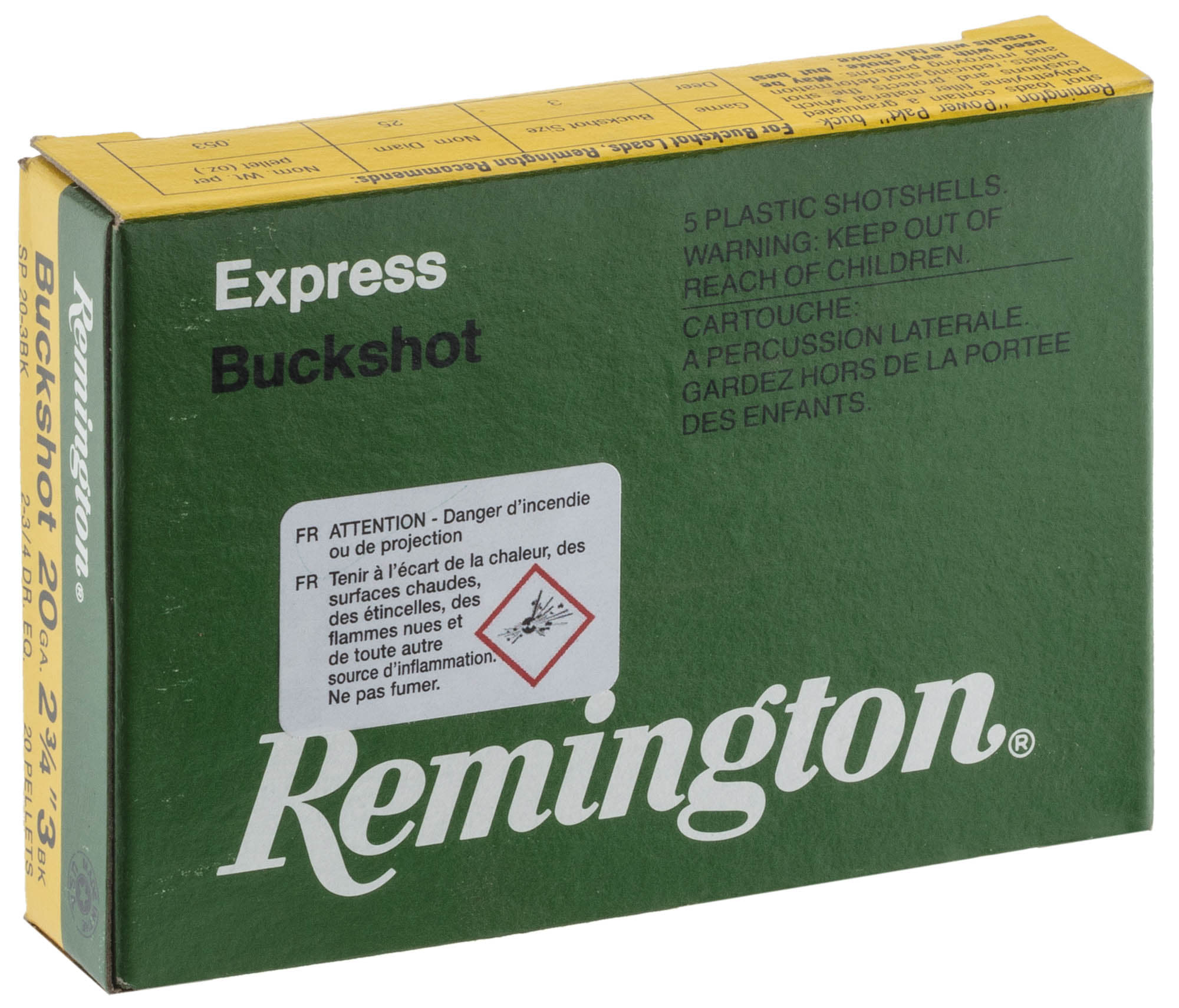 RMT120-Duplica Cartouches Remington Chevrotines Cal. 20-70 - RMT120
