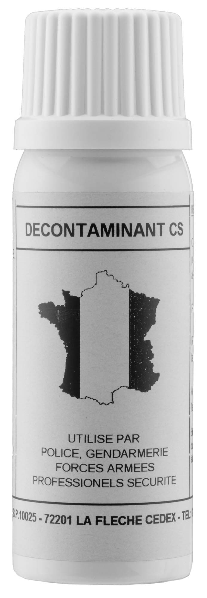 SP125-2-Aérosol décontaminant - gaz cs - 50 ml. - SP125