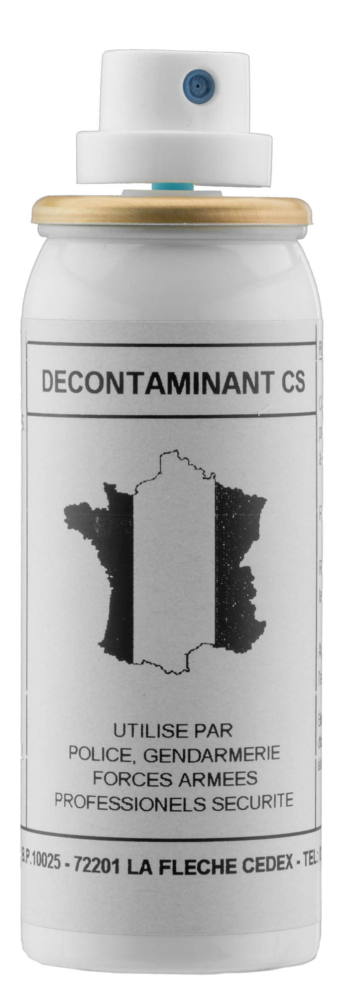 SP125-Aérosol décontaminant - gaz CS - 50 ml - SP125