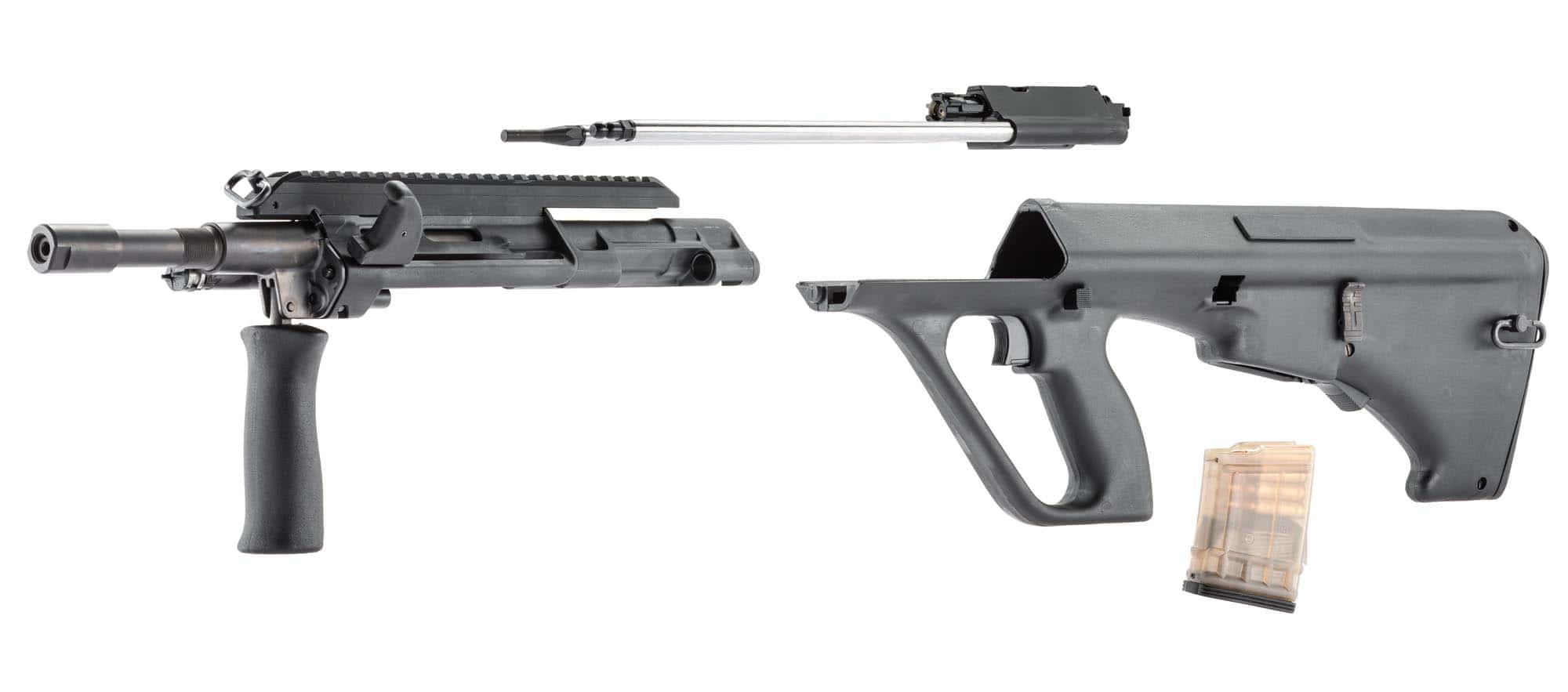 Semi automatic rifle Steyr Aug Z A3 cal  223 REM