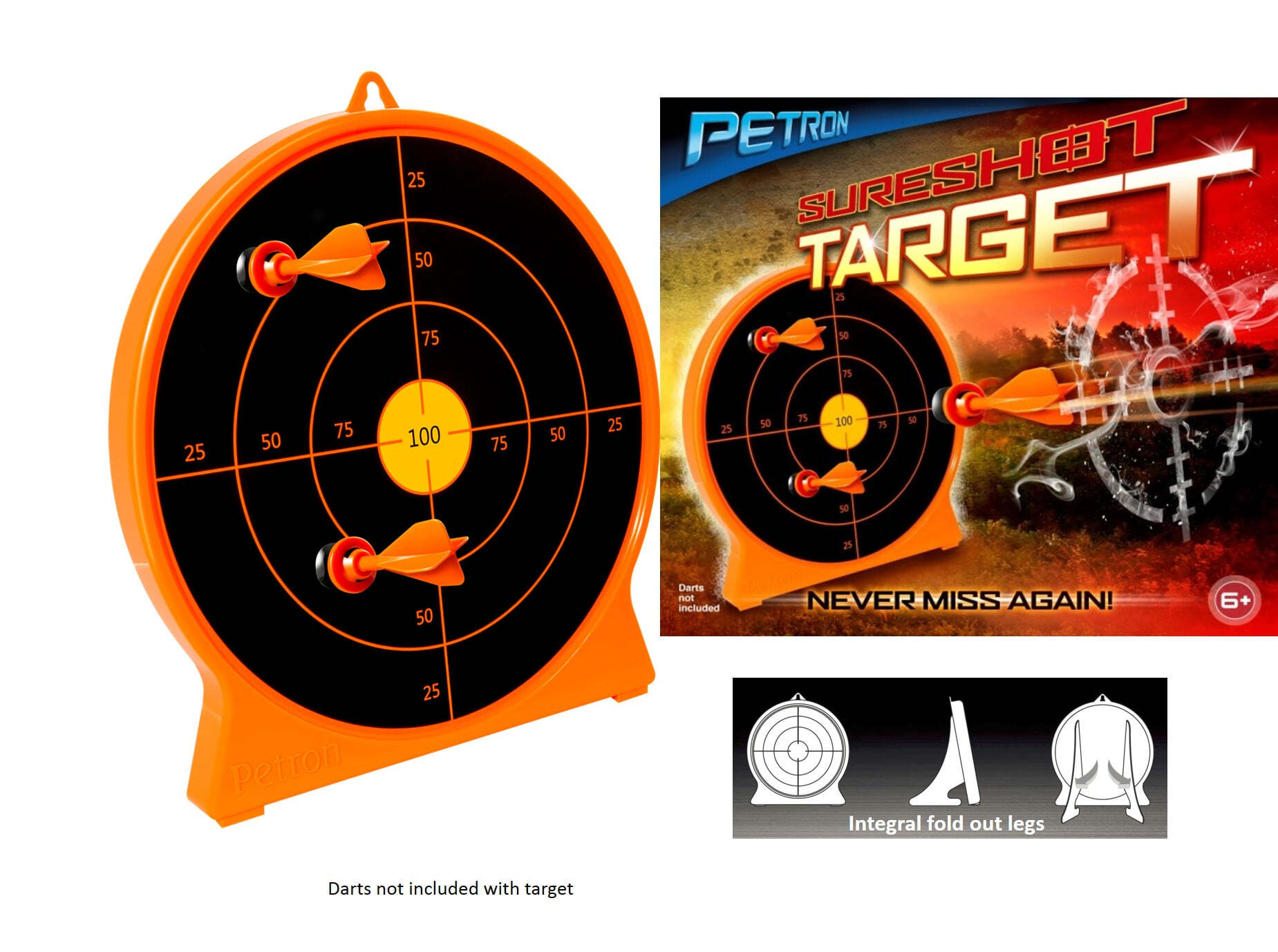 SURESHOT TARGET AND PACKAGING JPEG-CIBLES SURESHOT - PETRON - A56560